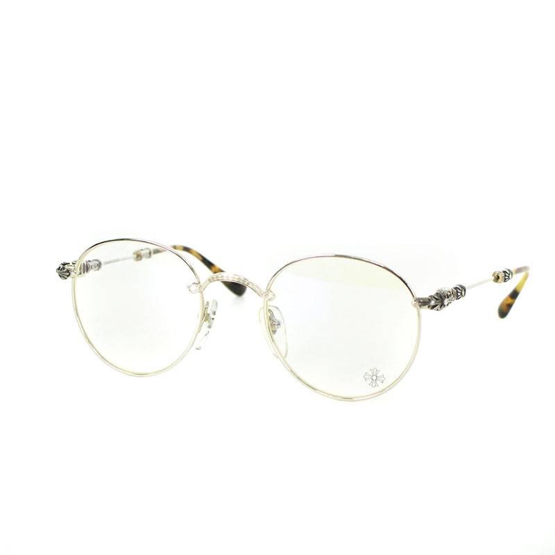 116a9c1c7f0 Chromic Hertz  Chrome Hearts.  BUBBA-A  floral round metal frame glasses
