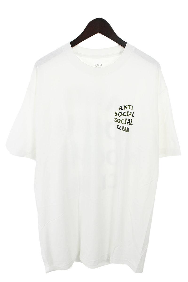 【在庫有】 アンチソーシャルソーシャルクラブ CLUB/ANTI SOCIAL SOCIAL WHITE CLUB【WOODY WHITE【WOODY TEE】バック迷彩カモロゴプリントTシャツ(L/ホワイト×カーキ)【OM10】【メンズ】【038081】【中古】bb154#rinkan*S, 高島町:ef51f559 --- peninsulafertilizantes.com.br