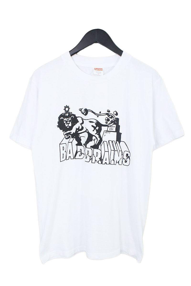 シュプリーム/SUPREME 【08SS】【Bad Brains Logo Tee】バックBOX LOGOプリントTシャツ(M/ホワイト)【OM10】【メンズ】【309081】【中古】【P】bb76#rinkan*B