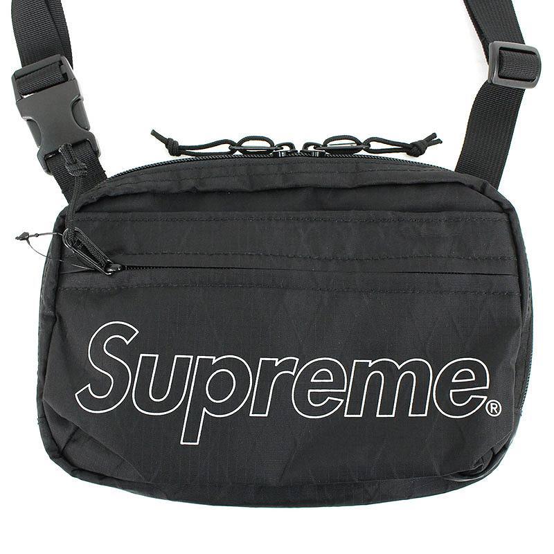 シュプリーム/SUPREME 【18AW】【Shoulder Bag】ボックスロゴナイロンショルダーバッグ(ブラック)【OM10】【小物】【409081】【中古】bb76#rinkan*S