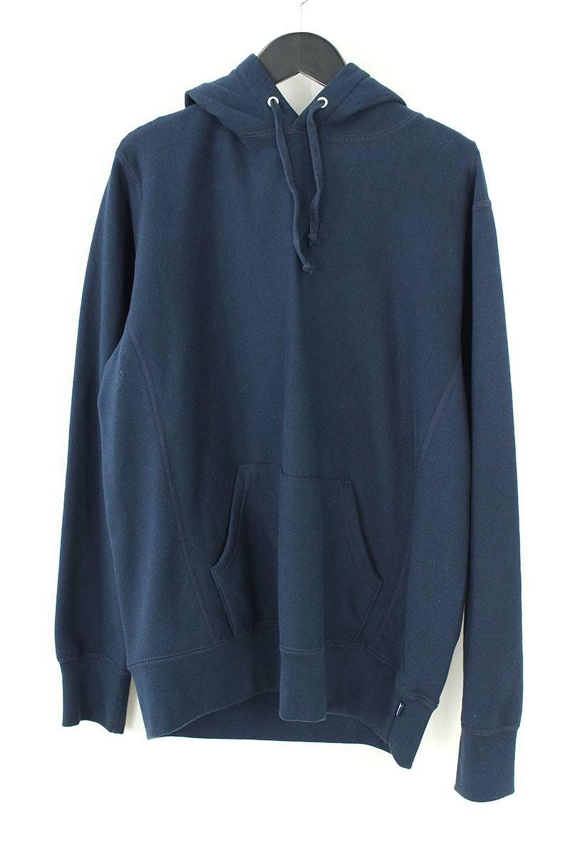 シュプリーム/SUPREME 【17SS】【Digi Hooded Sweatshirt】バックプリントプルオーバーパーカー(S/ネイビー)【HJ12】【メンズ】【409081】【中古】【P】[5倍]bb157#rinkan*B