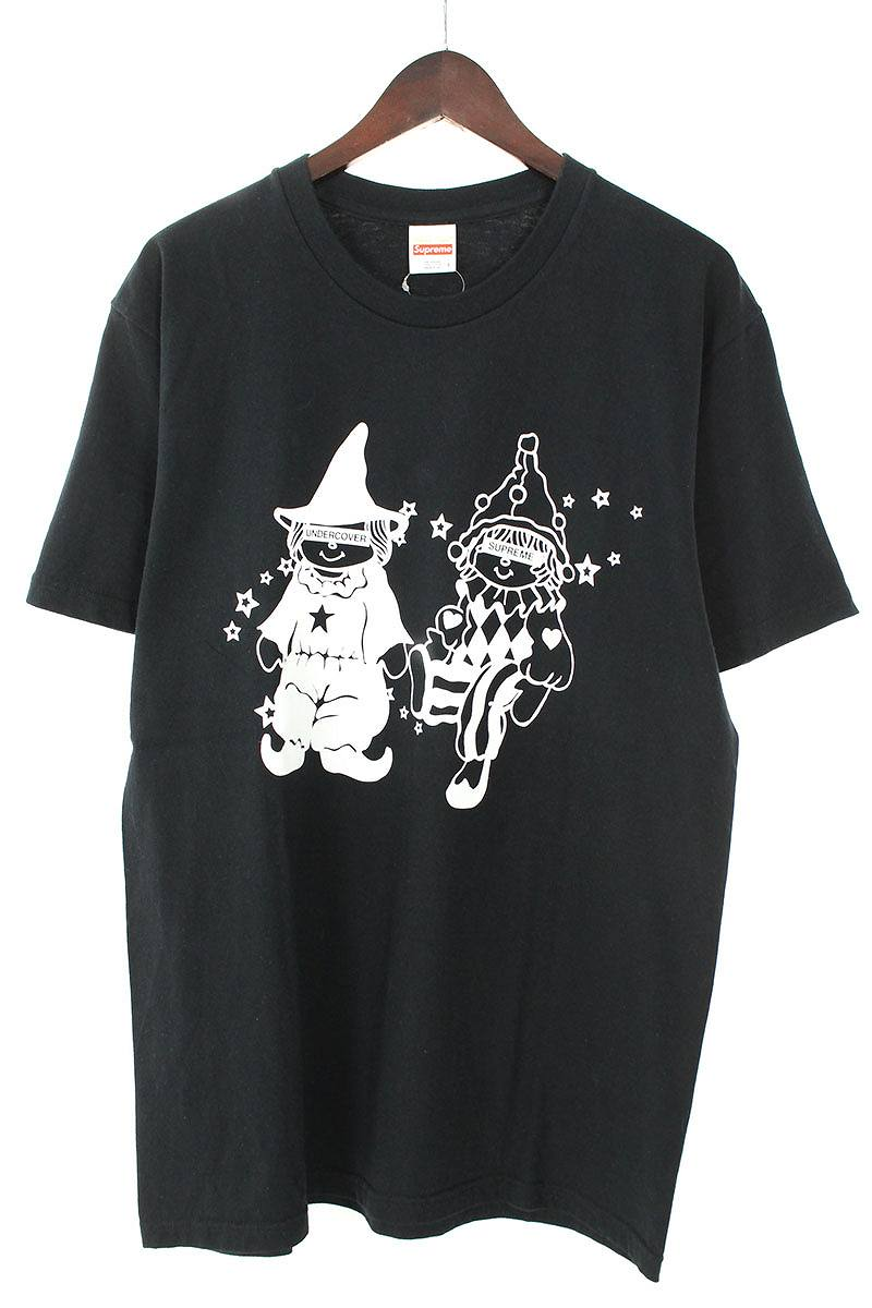 シュプリーム/SUPREME ×アンダーカバー/UNDERCOVER 【Dolls Tee】フロントドールプリントTシャツ(L/ブラック×ホワイト)【OM10】【メンズ】【509081】【中古】【P】[5倍]bb15#rinkan*A