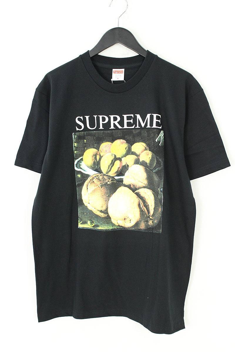 シュプリーム/SUPREME 【18AW】【Still Life Tee】フルーツプリントTシャツ(M/ブラック)【OM10】【メンズ】【609081】【中古】【P】bb168#rinkan*S