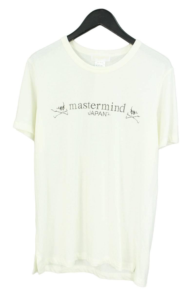 マスターマインド/mastermind 【MA2-TS47-025】スカルロゴプリントTシャツ(L/ホワイト)【BS99】【メンズ】【100181】【中古】[5倍]bb33#rinkan*B
