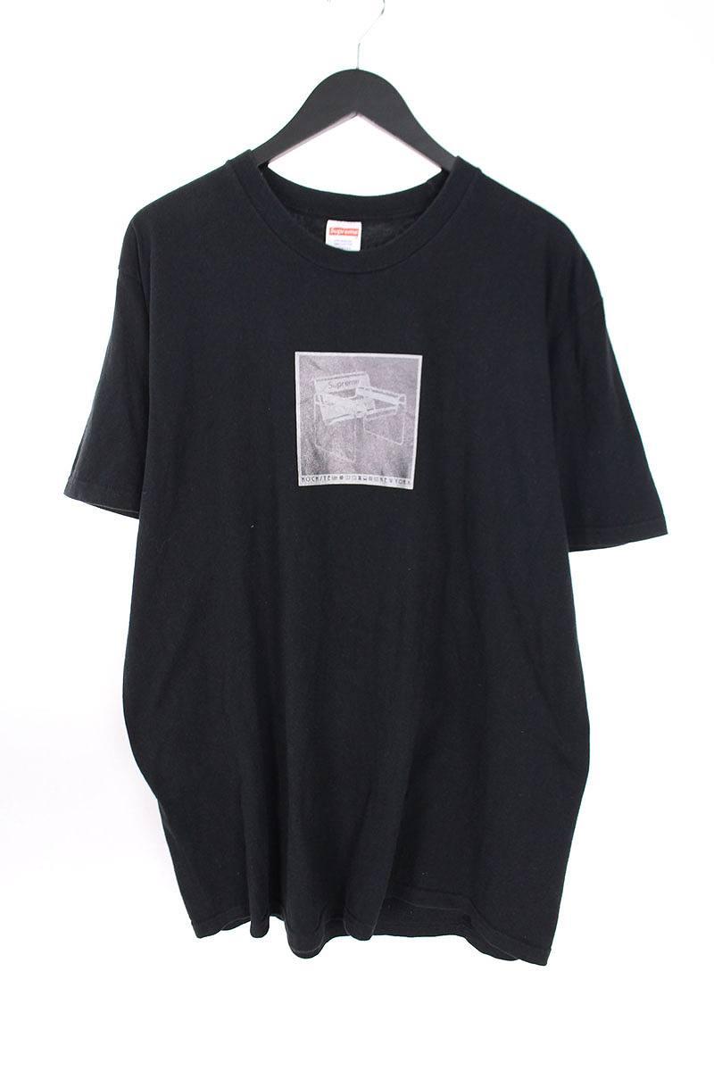 シュプリーム/SUPREME 【18SS】【Chair Tee】チェアープリントTシャツ(L/ブラック)【OM10】【メンズ】【319081】【中古】bb205#rinkan*B