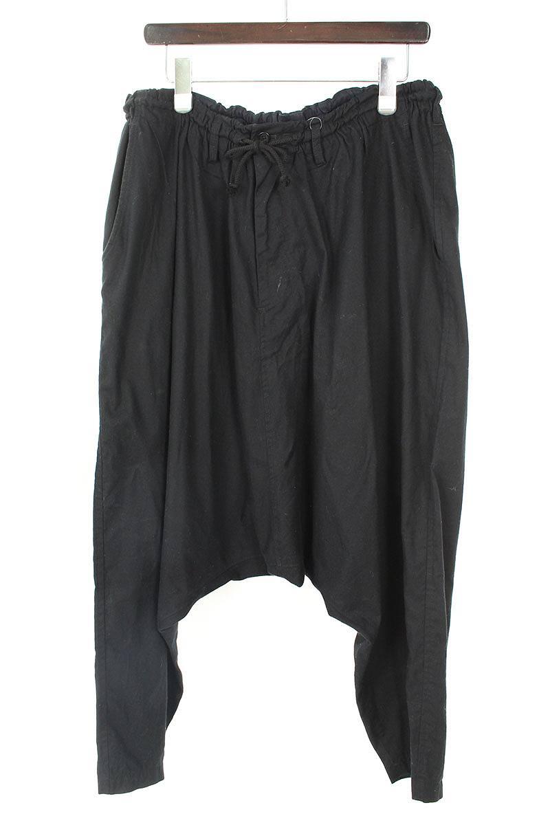 ヨウジヤマモト/Yohji Yamamoto 【BLACK Scandal Classic Sarouel Pants HV-P28-019】ブラックスキャンダルサルエルパンツ(3/ブラック)【SB01】【メンズ】【319081】【中古】【P】[5倍][5倍]bb154#rinkan*B