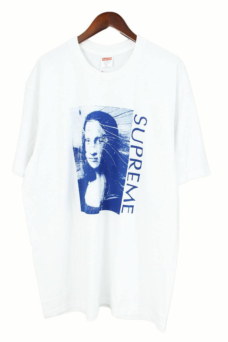 シュプリーム/SUPREME 【18SS】【Mona Lisa Tee】モナリザプリントTシャツ(XL/ホワイト)【OM10】【メンズ】【819081】【中古】[5倍]bb168#rinkan*S
