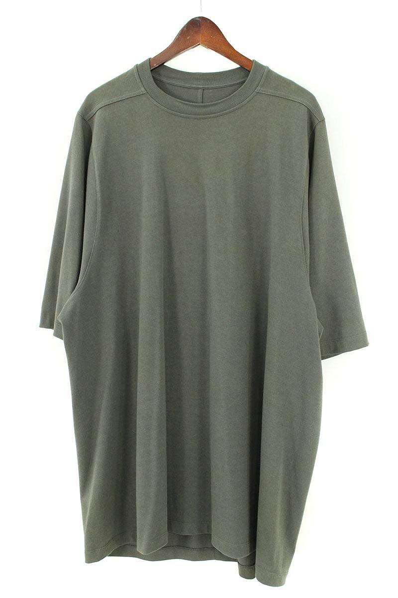リックオウエンス/Rick Owens 【17SS】【RU17S9282-BA】ビッグTシャツ(XL/カーキ)【SB01】【メンズ】【819081】【中古】[5倍]bb15#rinkan*B