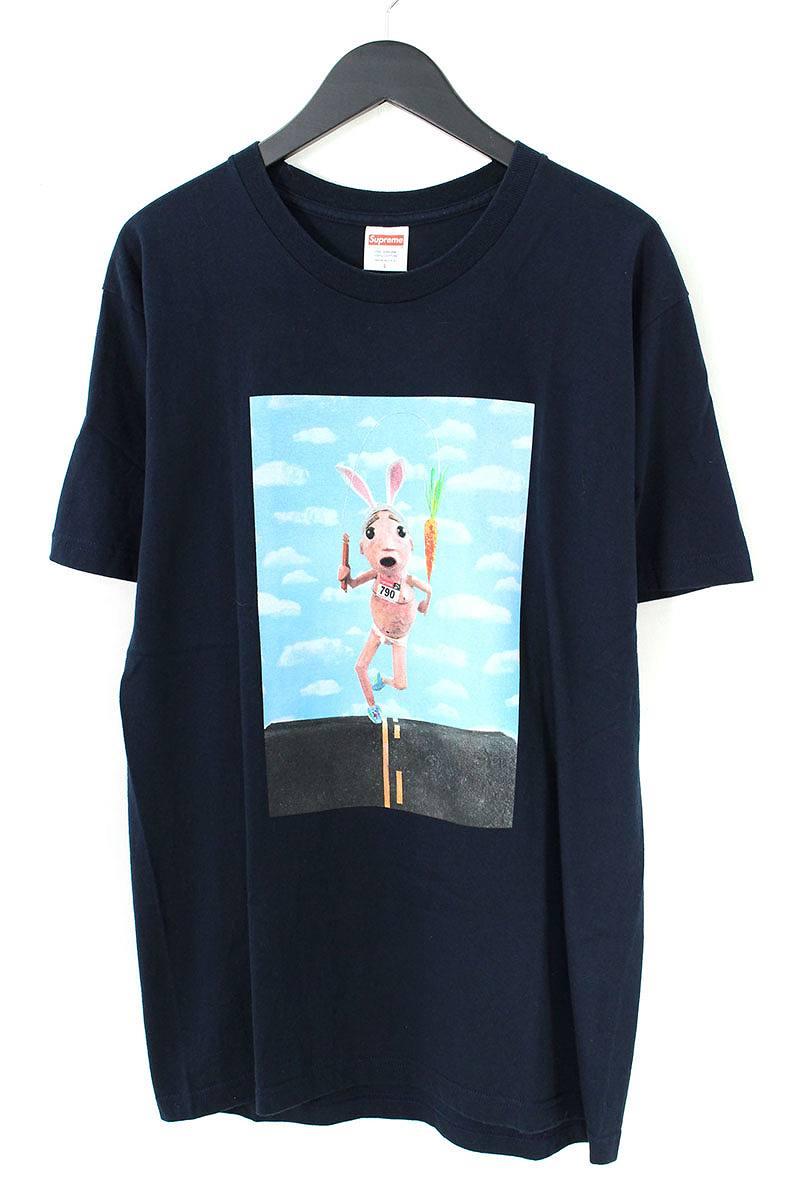 シュプリーム/SUPREME 【17SS】【Mike Hill Runner Tee】ランナープリントTシャツ(L/ネイビー)【SB01】【メンズ】【529081】【中古】【P】bb154#rinkan*A