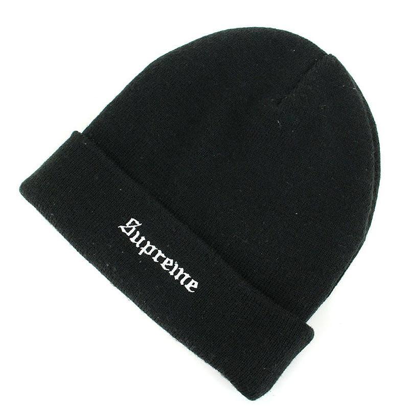 シュプリーム/SUPREME 【Guadalupe Beanie】マリア刺繍ビーニーニット帽(ブラック)【SB01】【小物】【629081】【中古】bb127#rinkan*B