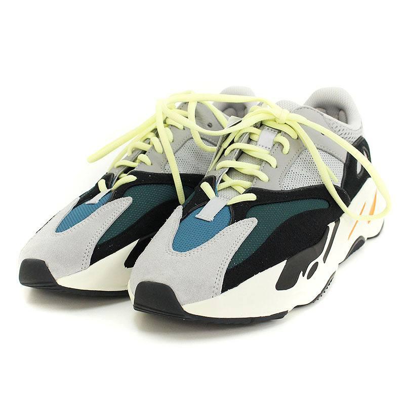 アディダス/adidas ×カニエウエスト 【YEEZY BOOST 700 YEEZY WAVE RUNNER】【B75571】ローカットスニーカー(27.5cm/グレー)【OM10】【メンズ】【小物】【829081】【中古】bb168#rinkan*S