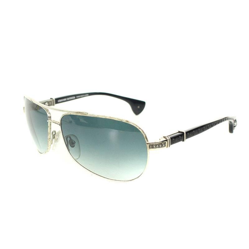 526146c85b10 Chromic Hertz  Chrome Hearts.  GRAND BEAST  CH cross design temple teardrop  sunglasses