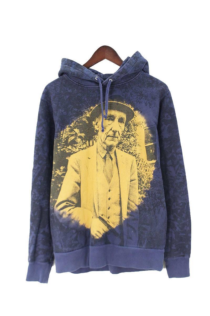 シュプリーム/SUPREME 【16SS】【Burroughs Hooded Sweatshirt】フォトプリントパーカー(M/ネイビー×イエロー)【HJ12】【メンズ】【500181】【中古】[5倍]bb14#rinkan*B