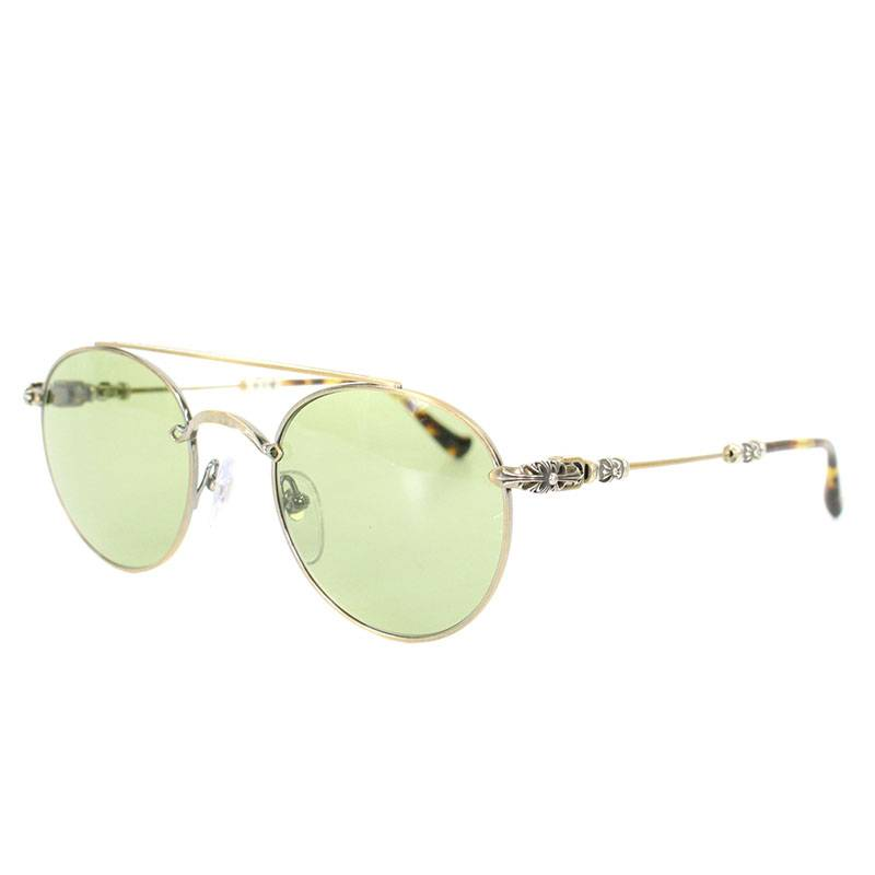 20ae8e28c7 Chromic Hertz  Chrome Hearts.  BUBBA  Vintage floral temple round frame  sunglasses