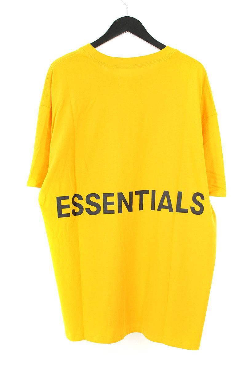 フォグ/FOG【18AW Graphic Boxy】【ESSENTIALS フォグ/FOG Boxy Graphic T-Shirt】バックプリントTシャツ(M/イエロー)【OM10】【メンズ】【210181】【中古】bb131#rinkan*S, 渥美町:ff0e8420 --- harrow-unison.org.uk