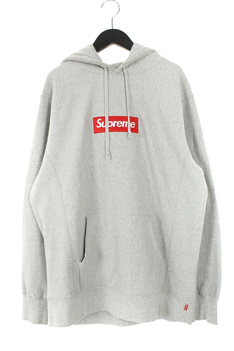 シュプリーム/SUPREME 【16AW】【Box Logo Hooded Sweatshirt】ボックスロゴフーデッドスウェットパーカー(L/グレー)【HJ12】【メンズ】【110181】【中古】bb182#rinkan*B
