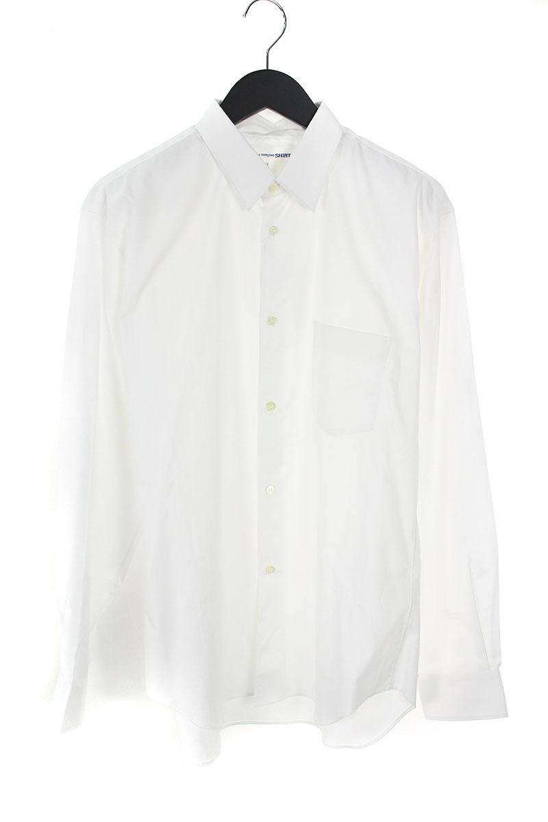 コムデギャルソンシャツ/COMME des GARCONS SHIRT 【CDGS2PL】FOREVERナロークラシック長袖シャツ(M/ホワイト)【BS99】【メンズ】【710181】【中古】[8倍]bb202#rinkan*B