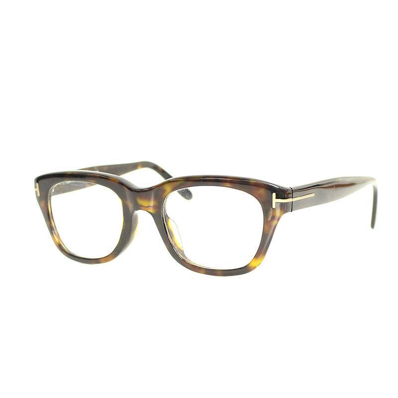 トムフォード/TOMFORD 【TF5178-F】ウェリントンフレーム眼鏡(51□21/ブラウン調)【BS99】【小物】【320181】【中古】【準新入荷】bb229#rinkan*B