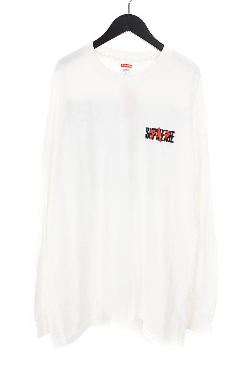 シュプリーム/SUPREME 【17AW】【Neo-Tokyo L/S Tee】×AKIRAプリントL/STシャツ(XL/ホワイト)【OM10】【メンズ】【220181】【中古】[5倍]bb99#rinkan*S