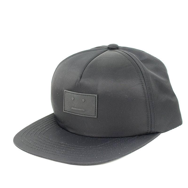 アクネストゥディオズ/ACNE STUDIOS 【18SS】【COVIA FACE】トラッカーキャップ帽子(59/ブラック)【BS99】【小物】【101181】【中古】bb51#rinkan*A