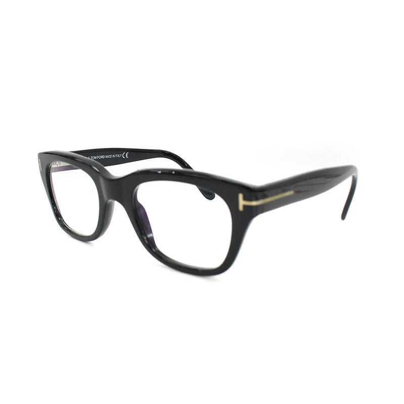 トムフォード/TOMFORD 【TF5178-001】ウェリントンフレーム眼鏡(50□21/ブラック)【BS99】【小物】【101181】【中古】bb147#rinkan*B