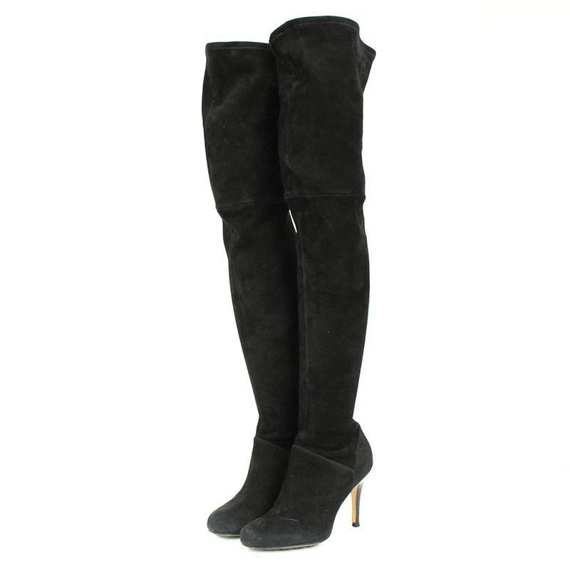 bedc6cbabd06 RINKAN  Cole Haan  COLE HAAN suede leather knee high boots (5.5B ...