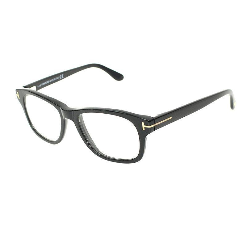 トムフォード/TOMFORD 【TF5147】黒縁眼鏡(52□17/ブラック×クリア)【SB01】【小物】【101181】【中古】bb15#rinkan*A