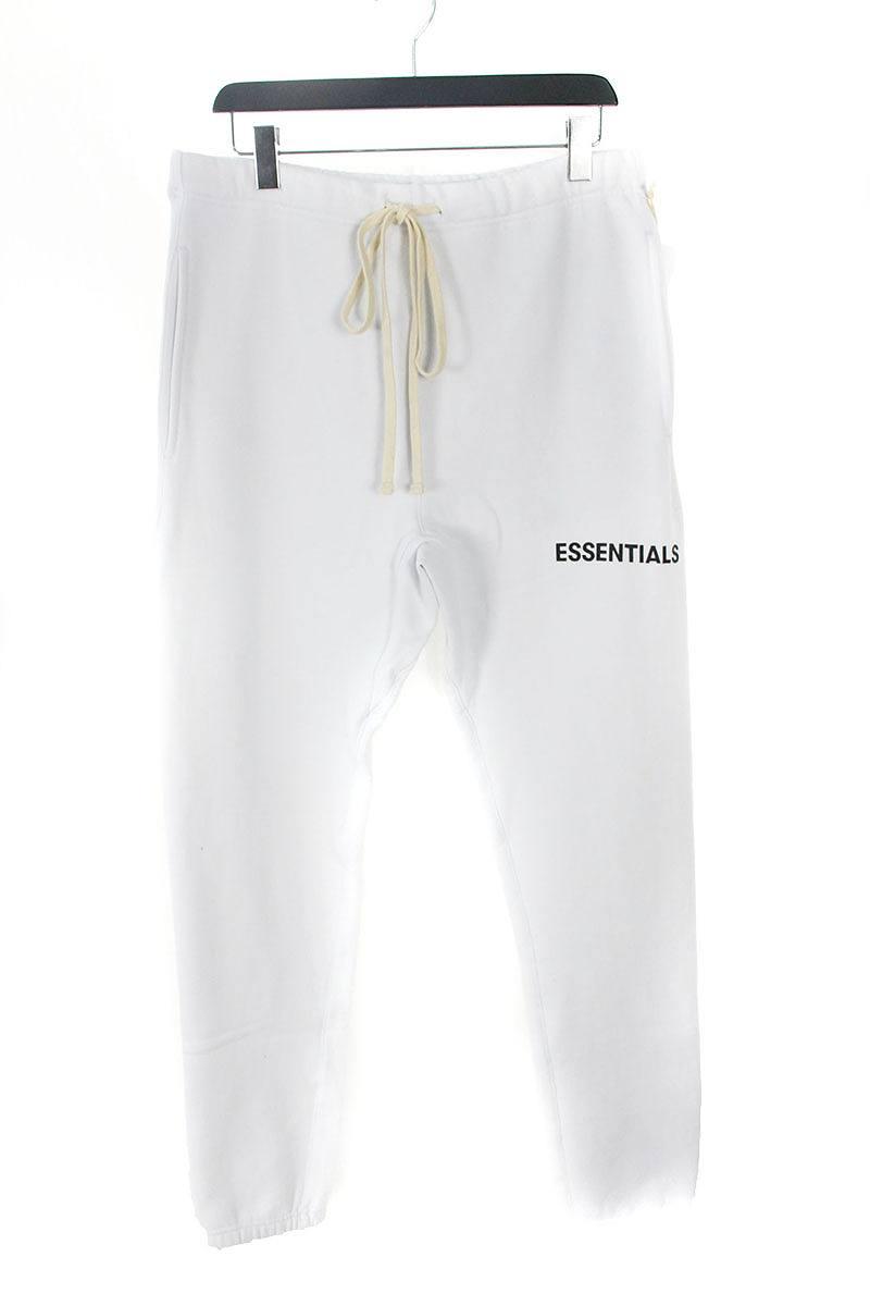 フォグ/FOG 【18AW】【ESSENTIALS Graphic Sweatpants】プリントスウェットロングパンツ(M/ホワイト)【OM10】【メンズ】【501181】【中古】【P】bb131#rinkan*S
