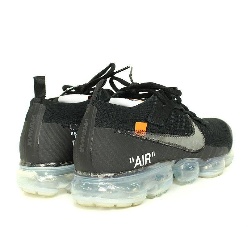 bf98ec61ea8d9 Nike  NIKE X off-white  OFF-WHITE air vapor max fried food knit sneakers  (26.5cm  black) bb246 rinkan B