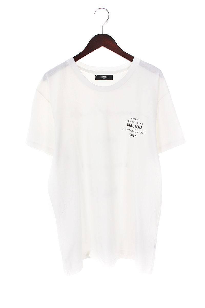 アミリ/AMIRI 【LA Limited Edition Tee】ロゴプリントTシャツ(L/ホワイト)【FK04】【メンズ】【402181】【中古】bb81#rinkan*B
