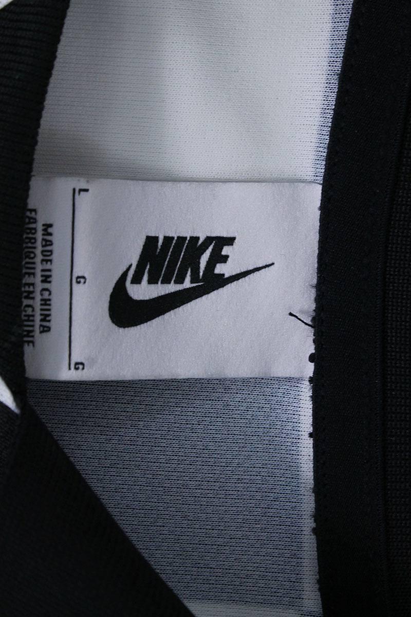 407400046 ... Nike off-white  NIKE OFF-WHITE checker pattern away soccer jersey long  sleeves ...