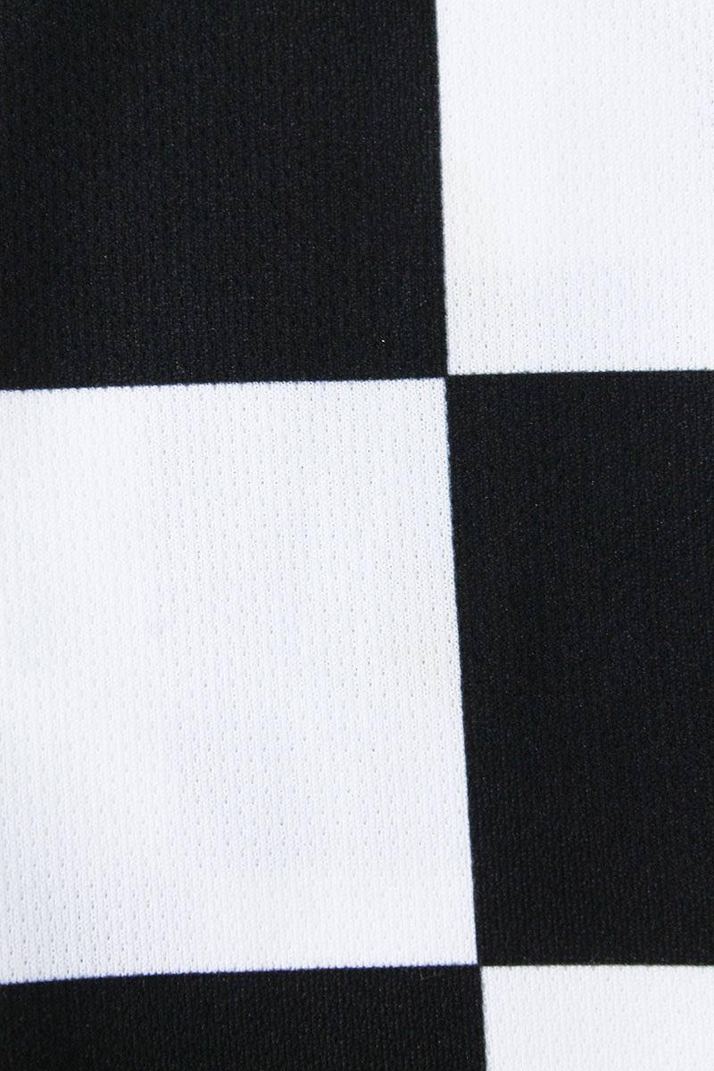 baff2ea34 ... Nike off-white  NIKE OFF-WHITE checker pattern away soccer jersey long  sleeves