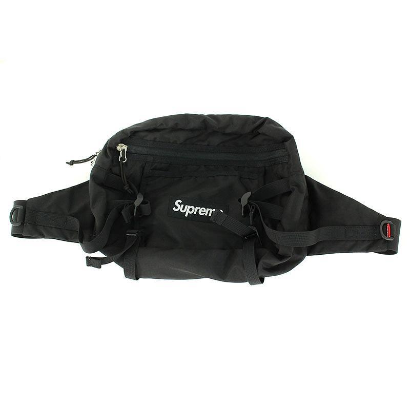 シュプリーム/SUPREME 【16SS】【Tonal Shoulder Bag】ボックスロゴナイロンショルダーバッグ(ブラック)【HJ12】【小物】【502181】【中古】bb182#rinkan*B