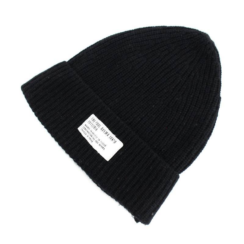 00b00ee8359e3 Pool Aoyama  the POOL aoyama wool cashmere beanie cap hat (black)  bb51 rinkan B