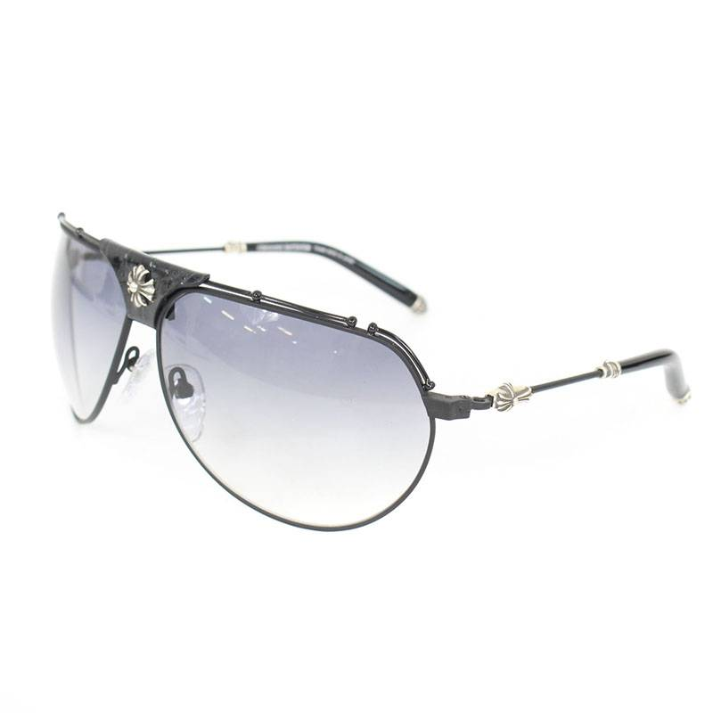 6bc78244e85 Chromic Hertz  Chrome Hearts.  KUFANNAW II  model push leather decoration  CH plus teardrop sunglasses
