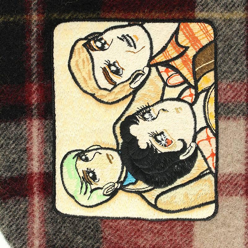 楽天市場】グッチ/GUCCI ×井出智香恵 【18AW】ワッペン付マフラー ...