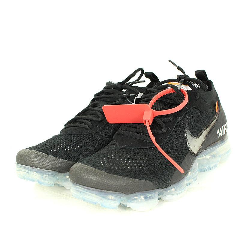 e61127fef5825 ...  NIKE OFF-WHITE.  AIR VAPORMAX FLYKNIT AA3831-002  air vapor max fried  food knit sneakers