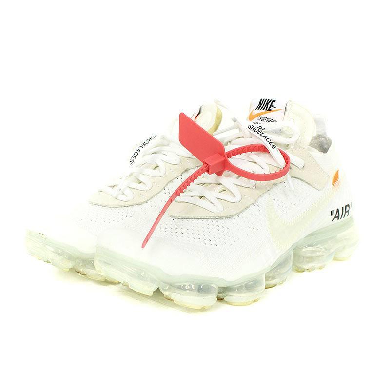 de552961c92ea ...  NIKE OFF-WHITE.  AIR VAPORMAX FLYKNIT AA3831-100  air vapor max fried  food knit sneakers