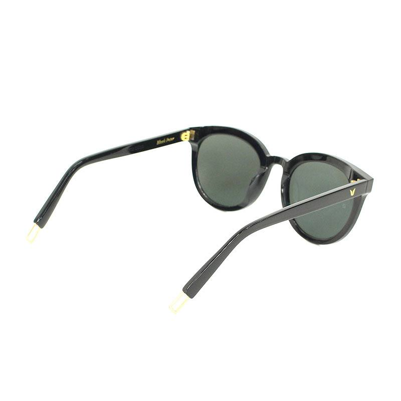 32b9b1fa501 Gen torr monster  GENTLE MONSTER round frame sunglasses (64 □ 16  (frame)  black) bb187 rinkan B