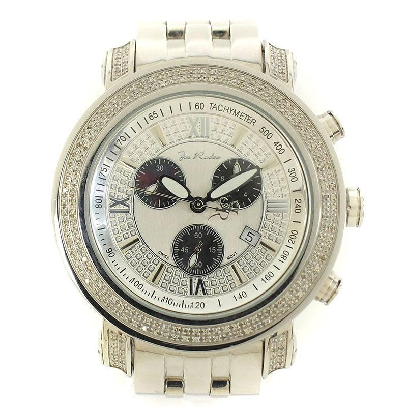ジョーロデオ/JOE RODEO 【TYLER JTY5】タイラー腕時計(シルバー)【BS99】【小物】【703091】【中古】bb131#rinkan*A