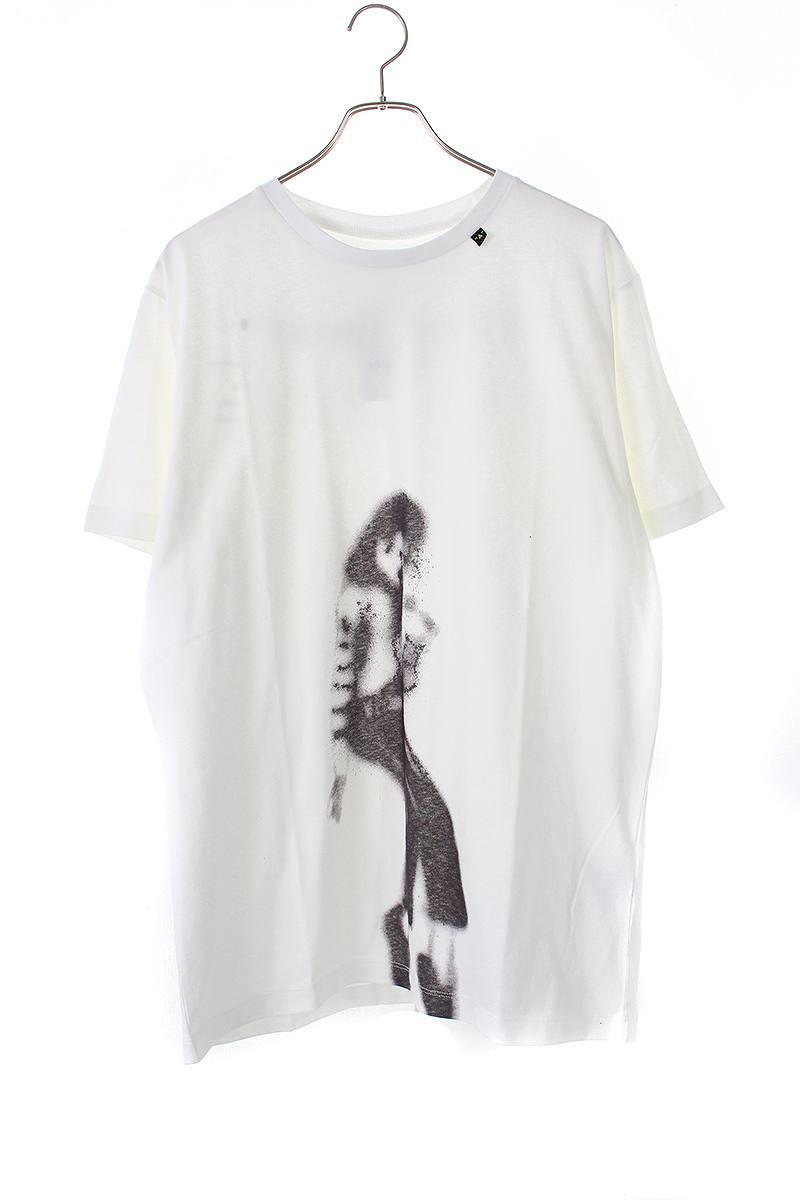 オフホワイト/OFF-WHITE 【19SS】【MJ S/S SLIM TEE】MJプリントTシャツ(L/ホワイト)【FK04】【メンズ】【503091】【新古品】bb20#rinkan*N