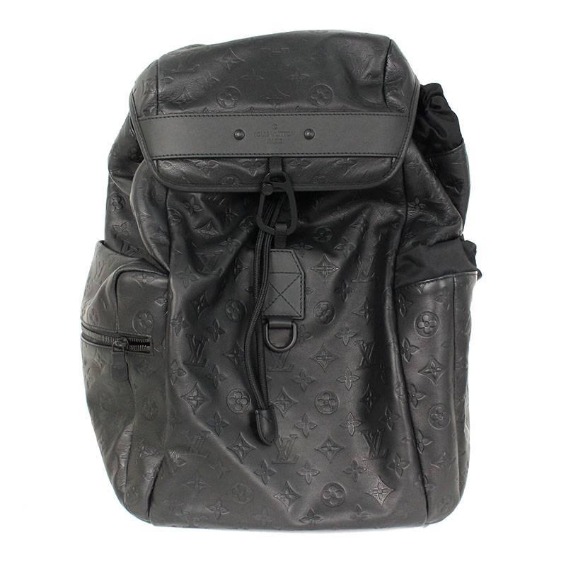 58420cae8a Louis Vuitton /LOUISVUITTON monogram shadow leather backpack (black)  bb82#rinkan*A