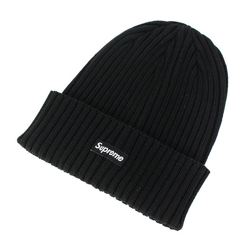 シュプリーム/SUPREME 【19SS】【Overdyed Beanie】オーバーダイビーニーニット帽(ブラック)【FK04】【小物】【603091】【中古】bb131#rinkan*S