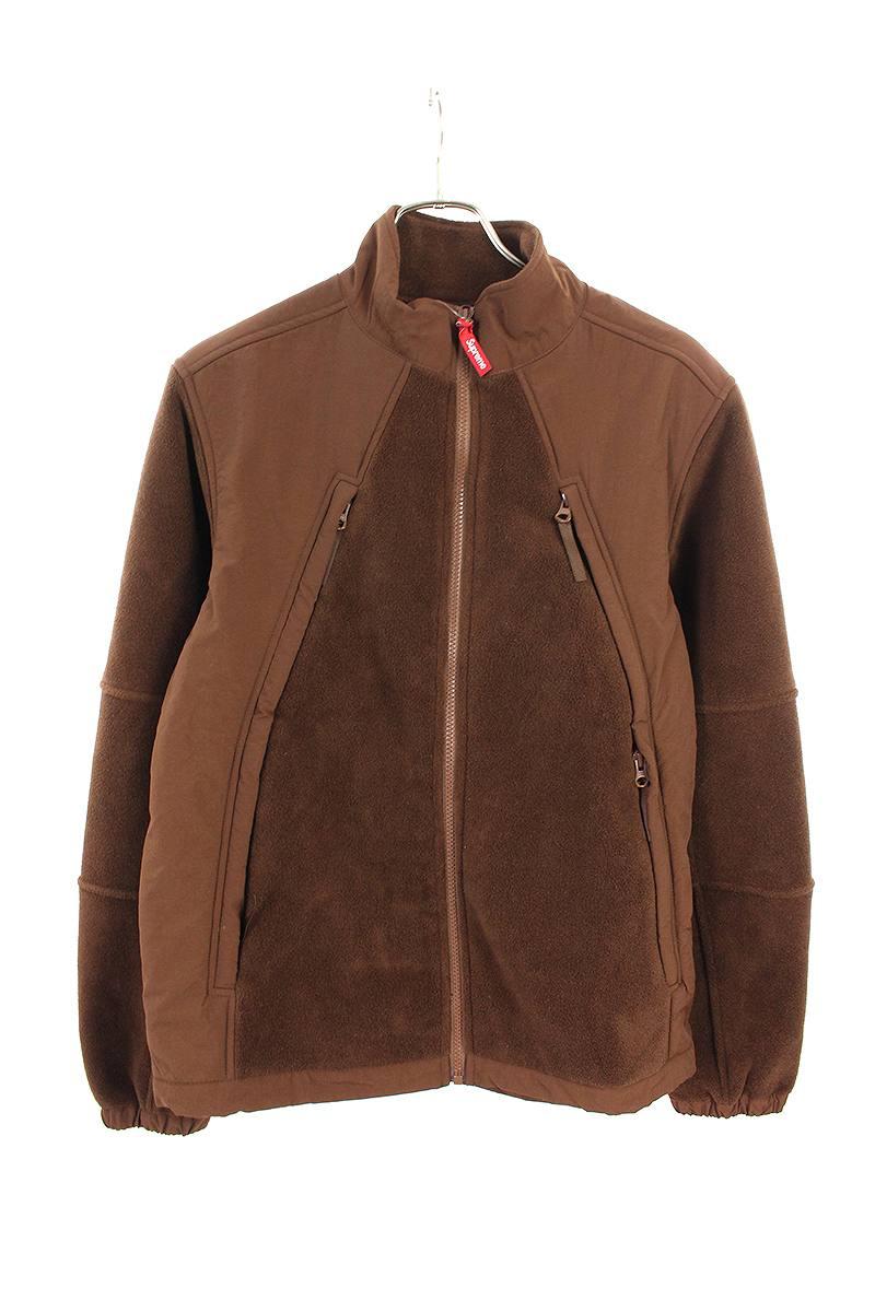 シュプリーム/SUPREME 【18AW】【Polartec Zip Up Jacket】ポーラテックフリースジップアップジャケット(S/ブラウン)【BS99】【メンズ】【603091】【中古】[less]bb296#rinkan*B