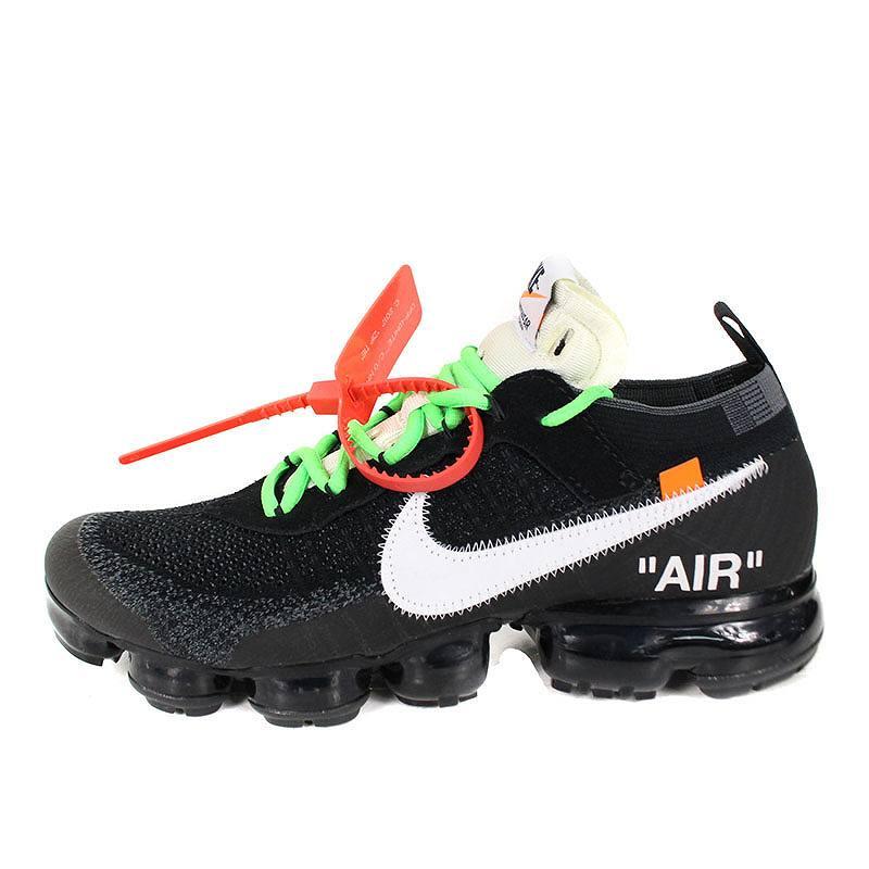 4ba2a76d413cf ...  NIKE OFF-WHITE.  AIR VAPORMAX FLYKNIT AA3831-001  air vapor max fried  food knit sneakers