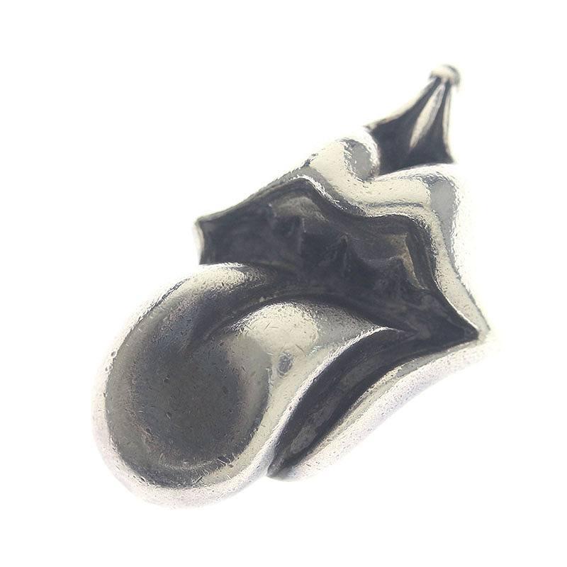 クロムハーツ/Chrome Hearts 【LIPS TONGUE CHARM/リップアンドタンチャーム】ネックレストップ(シルバー/23.82g)【SJ02】【小物】【213091】【中古】bb13#rinkan*B