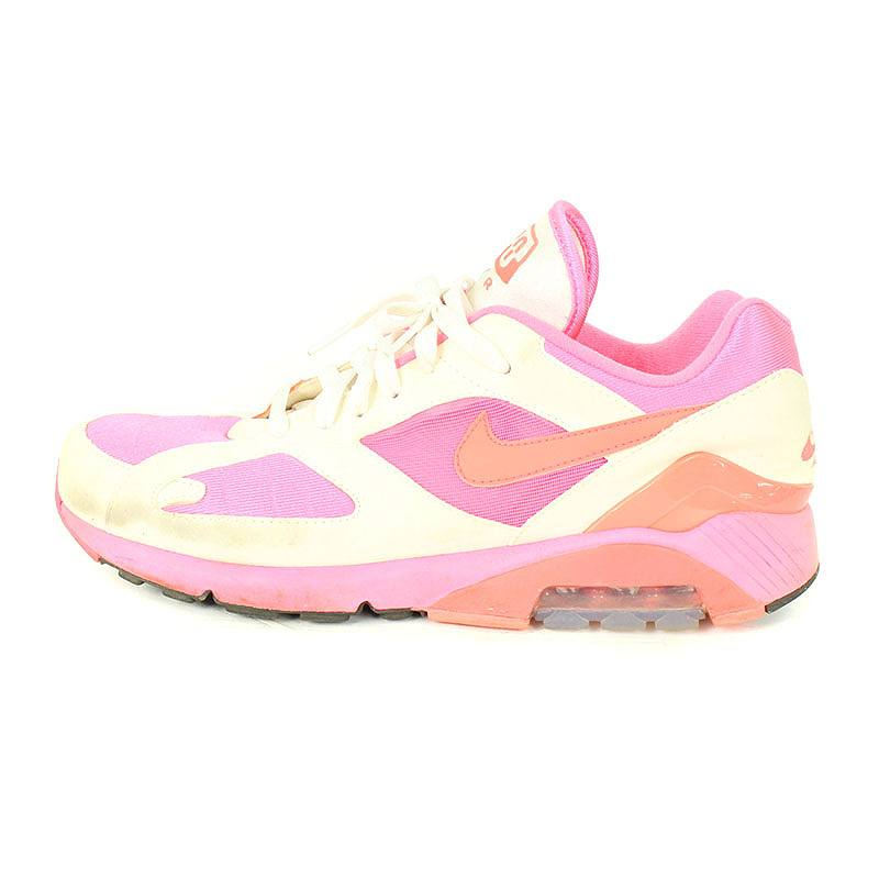 nouveau style 08489 2e707 Nike /NIKE X コムデギャルソンオムプリュス /COMME des GARCONS HOMME PLUS Air Max 180  sneakers (28cm/ pink X white) bb13#rinkan*C