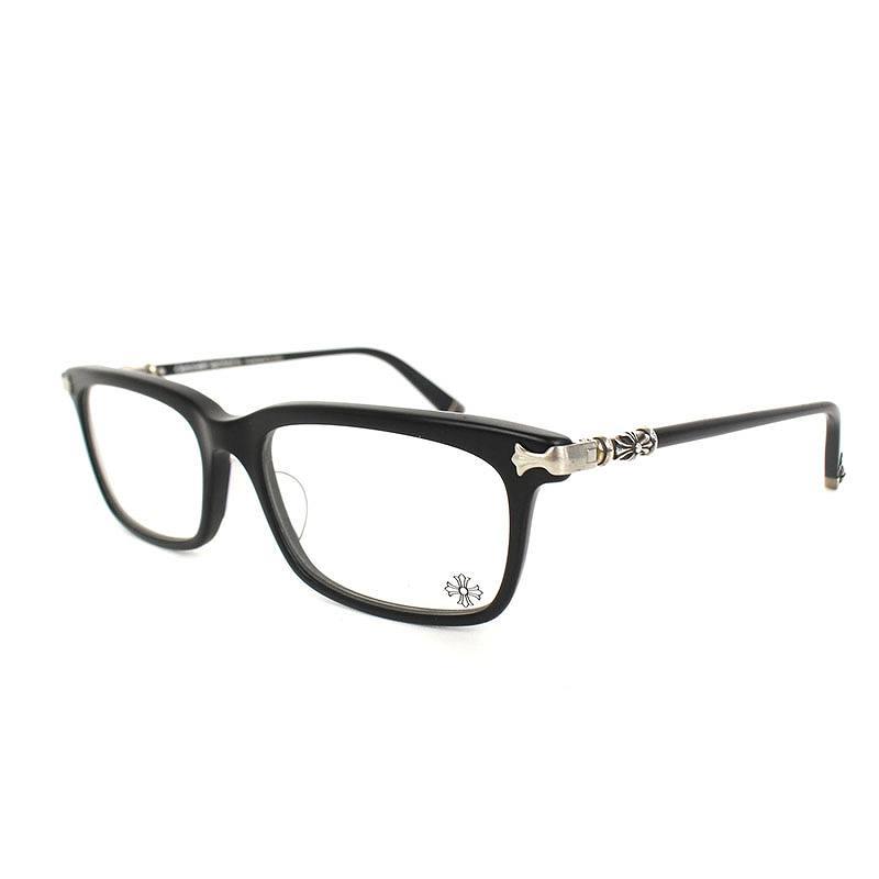 クロムハーツ/Chrome Hearts 【FUN HATCH II-A】眼鏡((フレーム)ブラック×シルバー)【OS06】【小物】【723091】【中古】bb134#rinkan*B