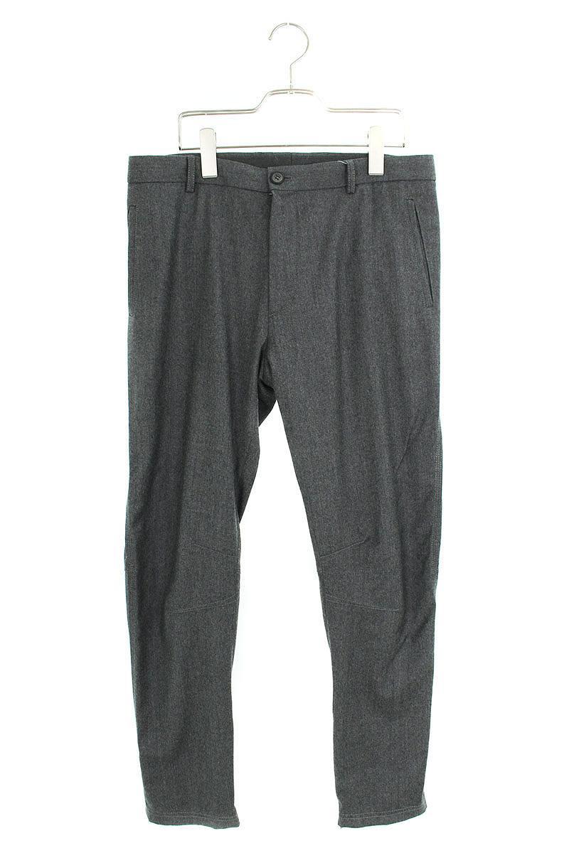 ランバン/LANVIN 裾ジップウールロングパンツ(46/グレー)【BS99】【メンズ】【904091】【中古】bb15#rinkan*B