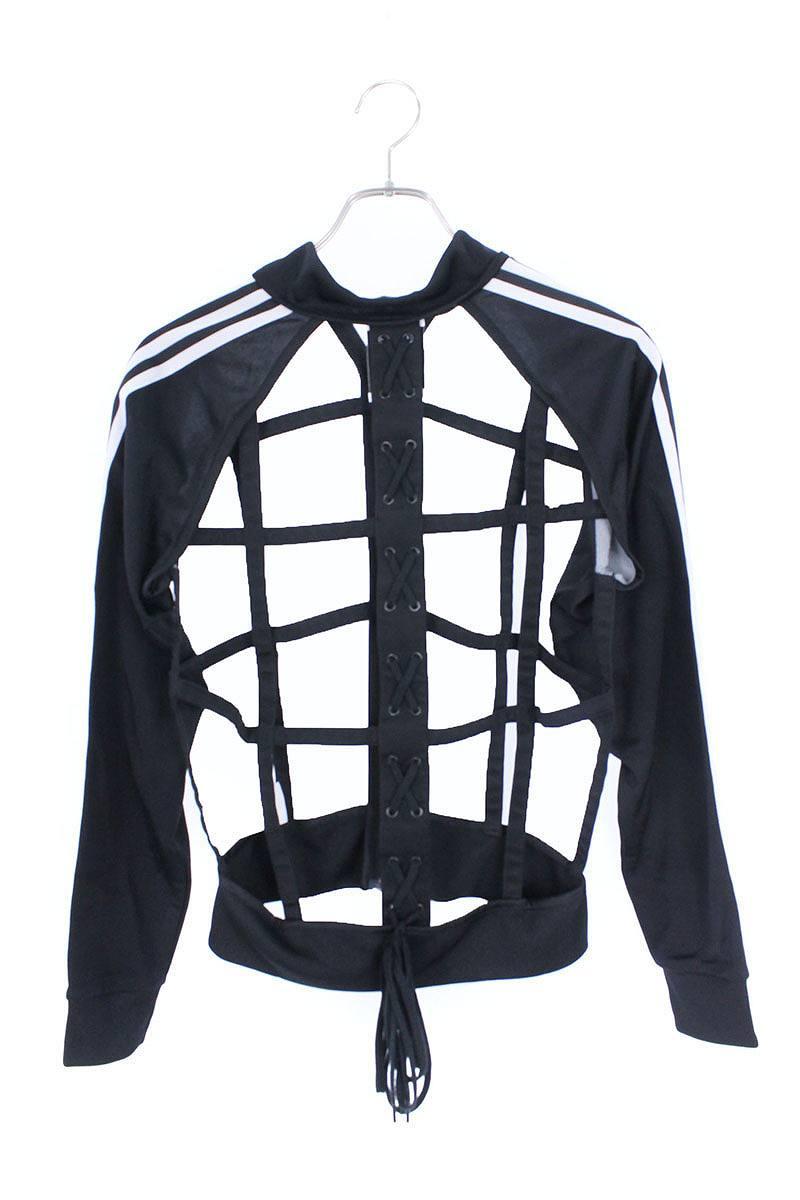 reputable site 202ff f133b X Adidas  adidas skeleton jersey truck jacket